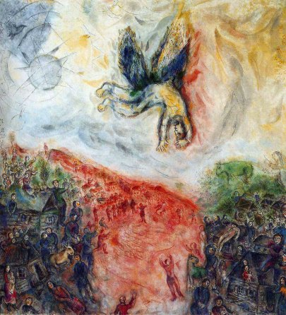 "Marc Chagall, ""La caduta di Icaro"", 1975, Centre Pompidou, Parigi"
