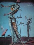 """Questo quadro di Salvador Dalì (Giraffa in fiamme, 1936) sembra ben sposarsi con le parole """"psicosomatiche di Freud: """"Il corpo umano...è oggi pieno di cassetti che solo la psicoanalisi è in grado di aprire"""". la Psicoanalisi è stato il primo movimento psicologico caratterizzato da un forte impianto psicosomatico, dove la mente ed il corpo errano uniti da plurime connessioni ed """"energie pulsionali"""" che dal corpo passavano alla mente e viceversa."""