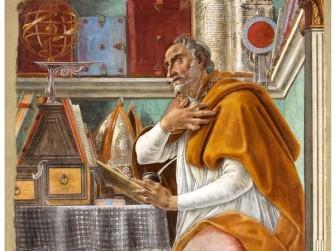 Sandro Botticelli, Sant'Agostino, 1480, Chiesa di Ognissanti