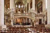 Coro della chiesa Saint-Etienne-du-Mont, 1622. E' qui che riposano i resti di Blaise Pascal.