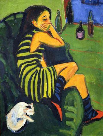 Ernst Ludwig Kirchner, Marcella, 1910, Berlino, Die Brucke Museum